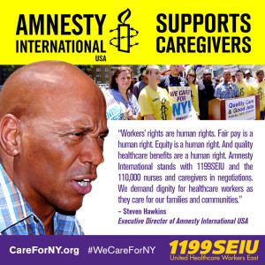 Amnesty International Supports Caregivers